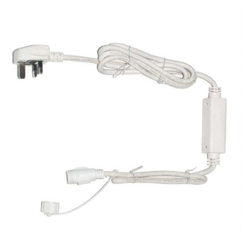 ConnectPro MV021 2m White Starter Cable - Powers up to 7600 LEDs